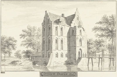 The Castle Enspijk, Gelderland The Netherlands Poster