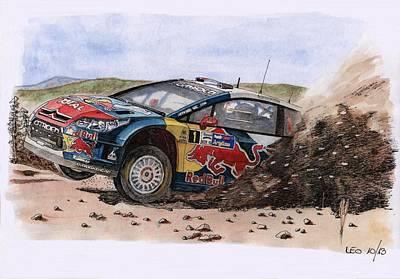 The Champion Poster by Leonardo Baigorria