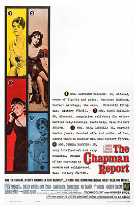 The Chapman Report, Us Poster Art Poster by Everett