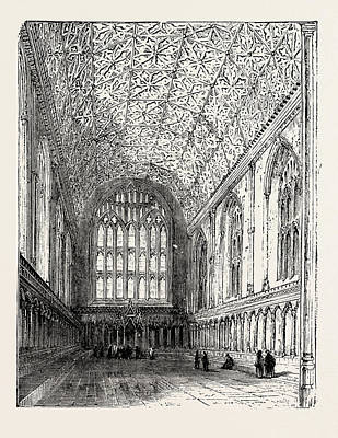 The Chapter House Canterbury Cathedral Poster by English School