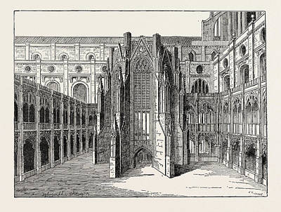 The Chapter House Of Old St Poster by English School