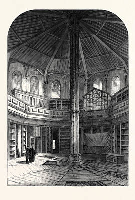 The Chapter House Westminster Abbey London Uk 1866 Poster by English School