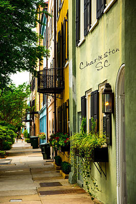 The Charm Of Charleston Poster by Karol Livote