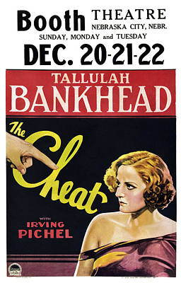 The Cheat, Us Poster, Tallulah Poster by Everett