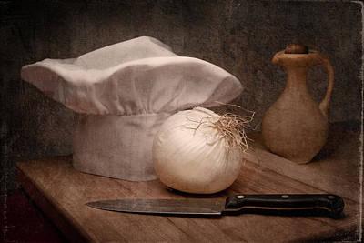 The Chef Poster by Tom Mc Nemar
