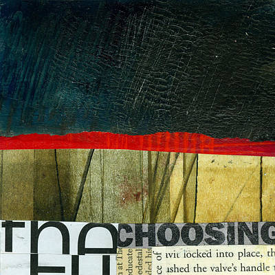 The Choosing Poster by Jane Davies