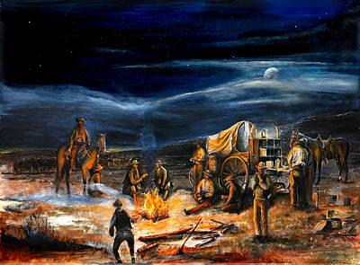 The Chuck Wagon Poster by Patrick Rahming