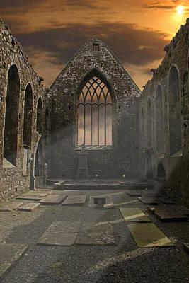 The Church Poster by Brendan Quinn