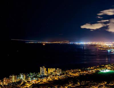 The City Of Aloha - Triptych Left Poster by Jason Chu