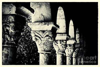 The Cloisters New York City Poster by Sabine Jacobs