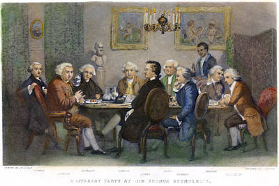 The Club, 1851 Poster