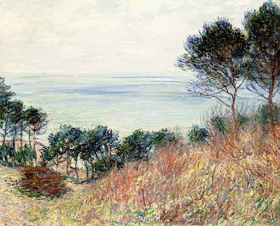 The Coast Of Varengeville Poster by Claude Monet