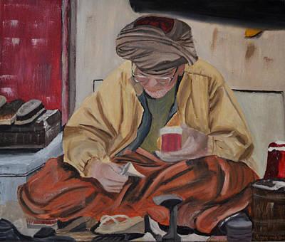 The Cobbler Poster by Zilpa Van der Gragt