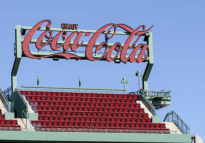The Coca-cola Corner Poster by Susan Candelario