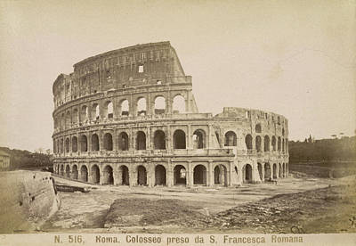 The Coliseum Poster by British Library