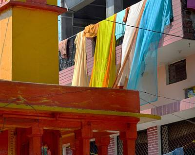 The Colors Of India - Allahabad Poster