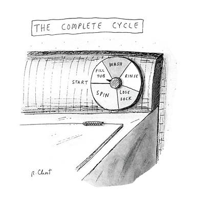 The Complete Cycle Poster by Roz Chast