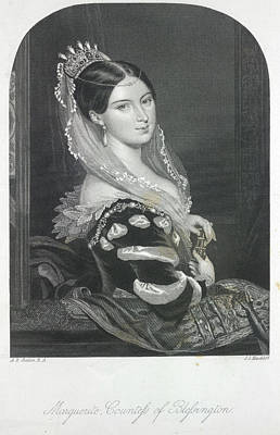 The Countess Of Blessington Poster by British Library