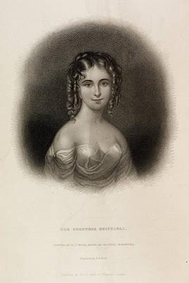 The Countess Teresa Guiccioli Poster by British Library