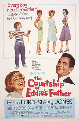 The Courtship Of Eddies Father, Top L-r Poster
