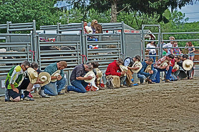 The Cowboy Prayer Poster