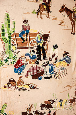 The Cowboy Way Poster by Sue Smith