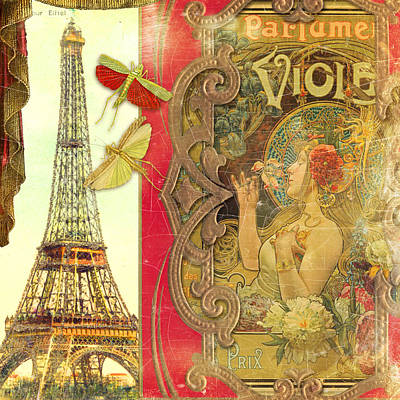The Crickets Of Paris Poster by Aimee Stewart