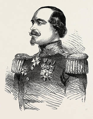 The Crimean War General Canrobert Commander-in-chief Poster by English School