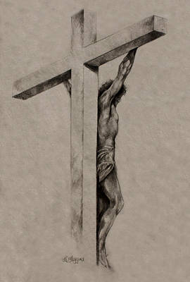 The Cross Poster by Derrick Higgins