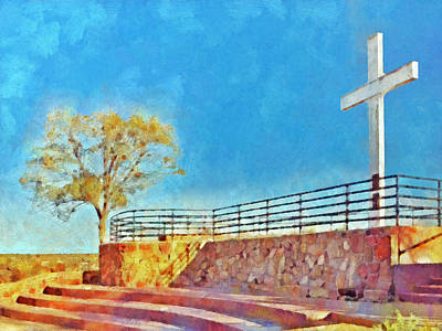 The Cross Of The Martyrs  Sante Fe  New Mexico  Poster by Digital Photographic Arts