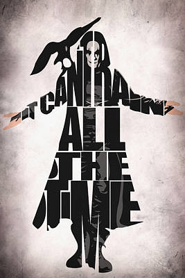 The Crow Poster by Ayse Deniz