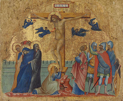 The Crucifixion Poster by Paolo Veneziano