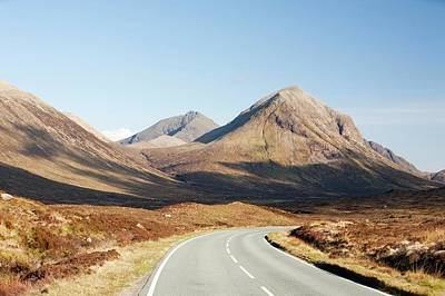 The Cuillin Mountains And Glamaig Poster by Ashley Cooper