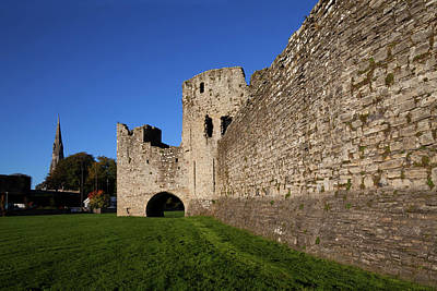 The Curtain Walls Of Trim Castle Poster