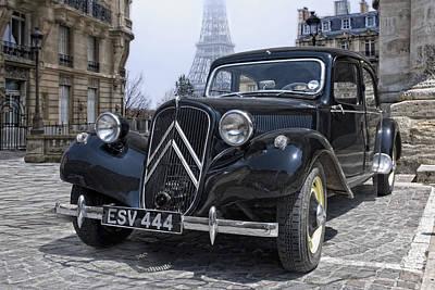 the CV11 in Paris Poster