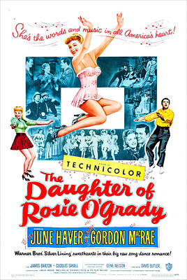 The Daughter Of Rosie Ogrady, Us Poster by Everett