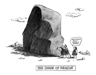 The Dawn Of Reason Poster by Robert Weber