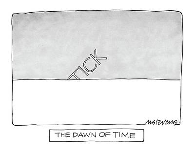 The Dawn Of Time Poster by Mick Stevens