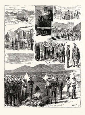 The De Aar Expedition South Africa 1. The De Aar Railway Poster by South African School