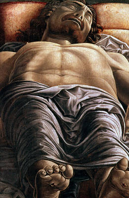 The Dead Christ Poster by Andrea Mantegna