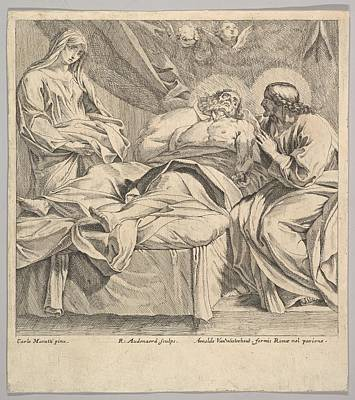 The Death Of St. Joseph Poster