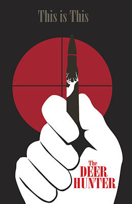 The Deer Hunter Poster by Ron Regalado