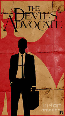 The Devil's Advocate 1 Poster by Petros Graphic Design