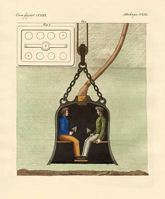 The Diving Bell Poster by Splendid Art Prints