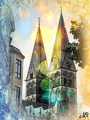 Poster featuring the photograph The Dom  by Nico Bielow