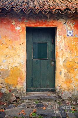 Poster featuring the photograph The Door by Bernardo Galmarini