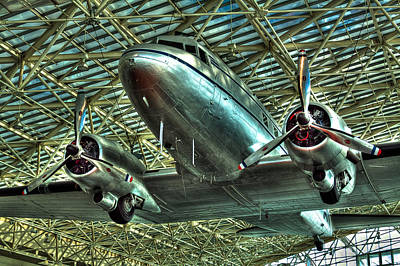 The Douglas Dc-3 Airplane Poster by David Patterson