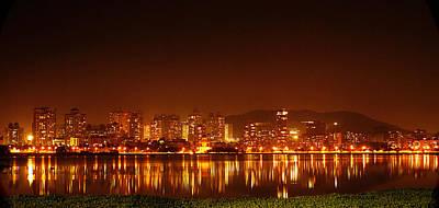 The Dream City - Mumbai Poster by Money Sharma