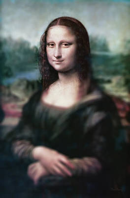 The Dream Of The Mona Lisa Poster by David Bridburg