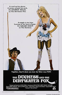 The Duchess And The Dirtwater Fox, Us Poster